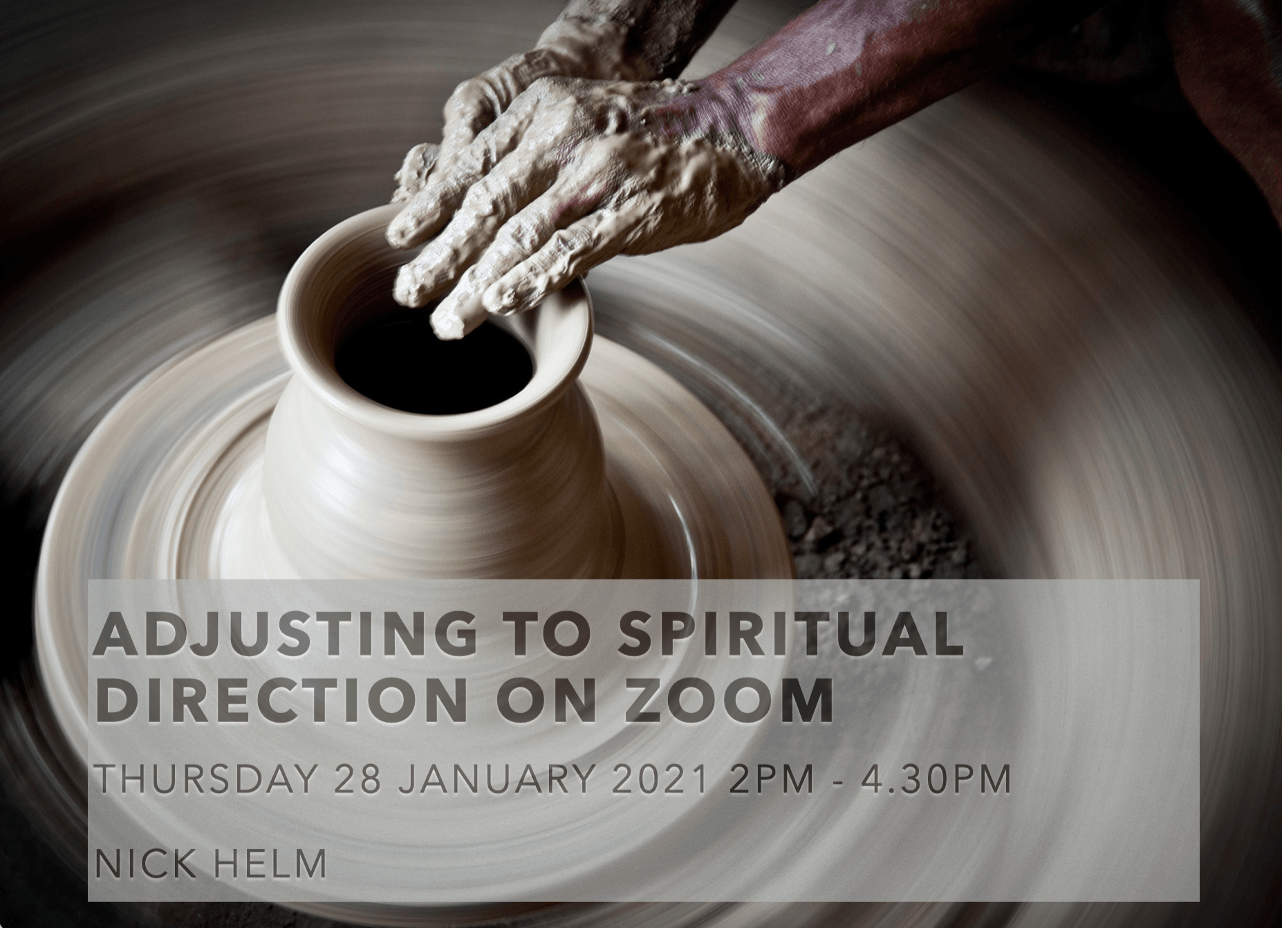 Adjusting To Spiritual Direction on Zoom