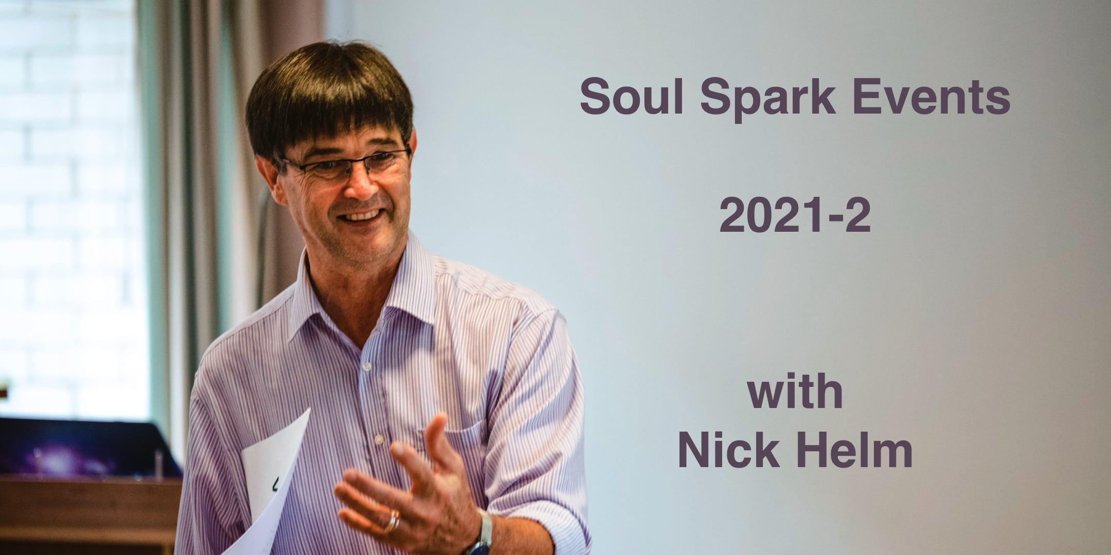 Soul Spark Events for Spiritual Directors 2021-2